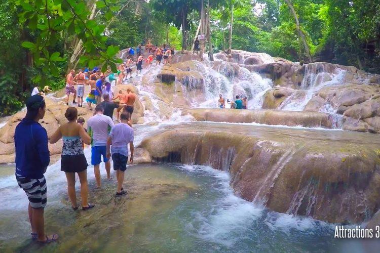 Climbing Dunn's River Falls – Jamaica's