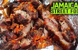 JAMAICAN STREET FOOD! Traveling Jamaica for street food (WEST)