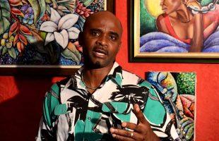 Profile of a Jamaican artist Alphanso Blake