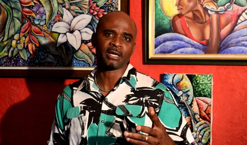 Profile of a Jamaican artist Alphanso Blake