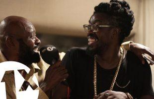 1Xtra in Jamaica – Beenie Man, Lt Stitchie & Josey Wales at King Jammy's studio Jamaica