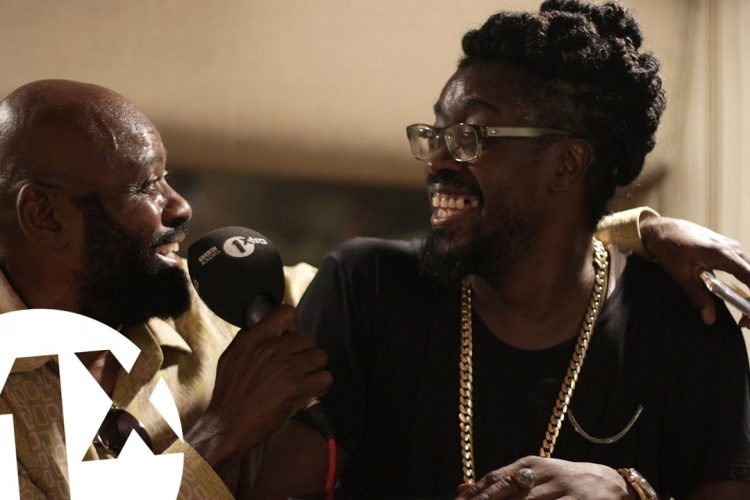 1Xtra in Jamaica – Beenie Man, Lt Stitchie & Josey Wales at King Jammy's studio Jamaica