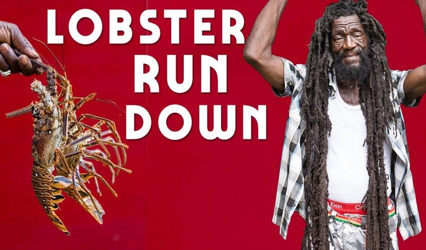 Lobster Rundown part 1…Jamaica Style!