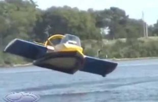 Universal Hovercraft – UH-18SPW Hoverwing™ Flying Ground Effect Hovercraft