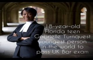 18 Year Old Gabrielle Turnquest Becomes Youngest In The World To Pass UK Bar Exam!