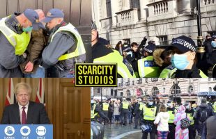 29 Arrests At London March & Tier 4 Restrictions #streetnews