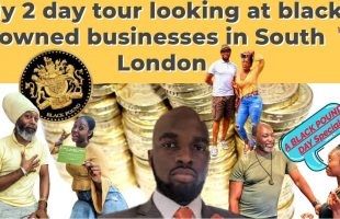 BLACK OWNED BUSINESSES review in South London | black pound day |#SWISS | BLM