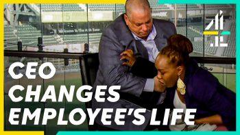 Undercover Boss Changes Homeless Employee's Life! | Undercover Boss USA