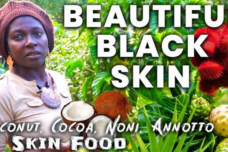 How To Get Beautiful Skin | Jamaican Queen Uses Skin Food