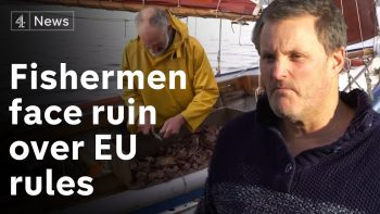 Fishermen in Cornwall face ruin over EU post-Brexit trade rules
