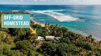 Incredible Self-Reliant Living on a Remote Island (full tour)