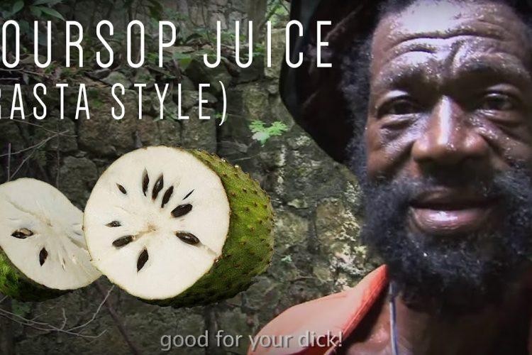 Soursop Juice (Rasta Style)
