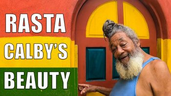 The place that made me stay in JAMAICA. Meet my friend RAS CALBY.